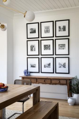 Mid-Century Farmhouse - Dining Room wall art