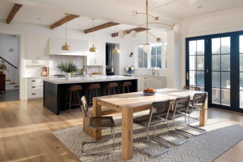 Mid-Century Farmhouse - Kitchen & Breakfast Table