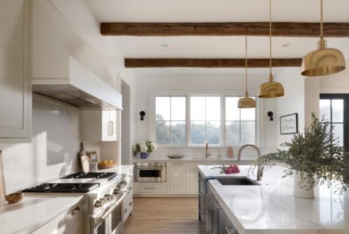 Mid-Century Farmhouse - Kitchen